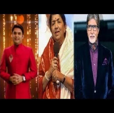Kapil has 'special b'day' with Big B, Lata Mangeshkar