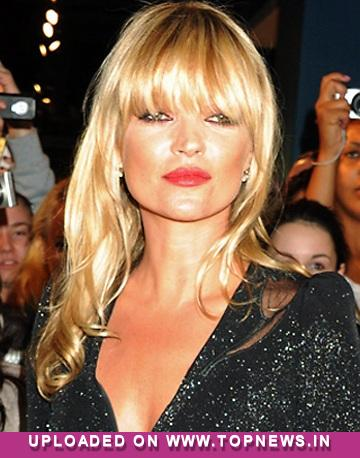 Kate Moss ''felt faint'' at NME Awards