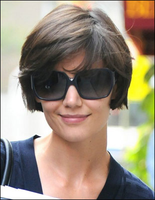 katie holmes. Holmes got a one-on-one with