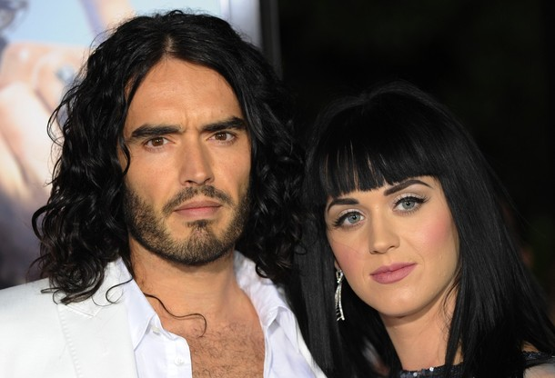 London, June 17 : Katy Perry and fiance Russell Brand have matching tattoos