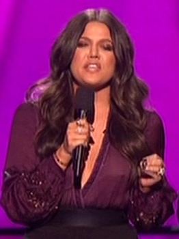 Khloe Kardashian blames Hurricane Sandy for X Factor ` nipplegate`