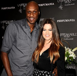 Khloe Kardashian and Lamar Odom bump into Kim's ex Kris Humphries