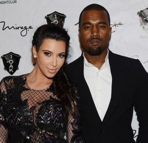 `Nude` Kim Kardashian and Kanye West get hot and heavy for French mag