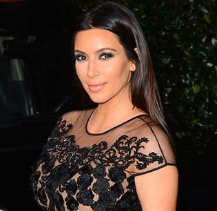 Kim compares daughter's style with own