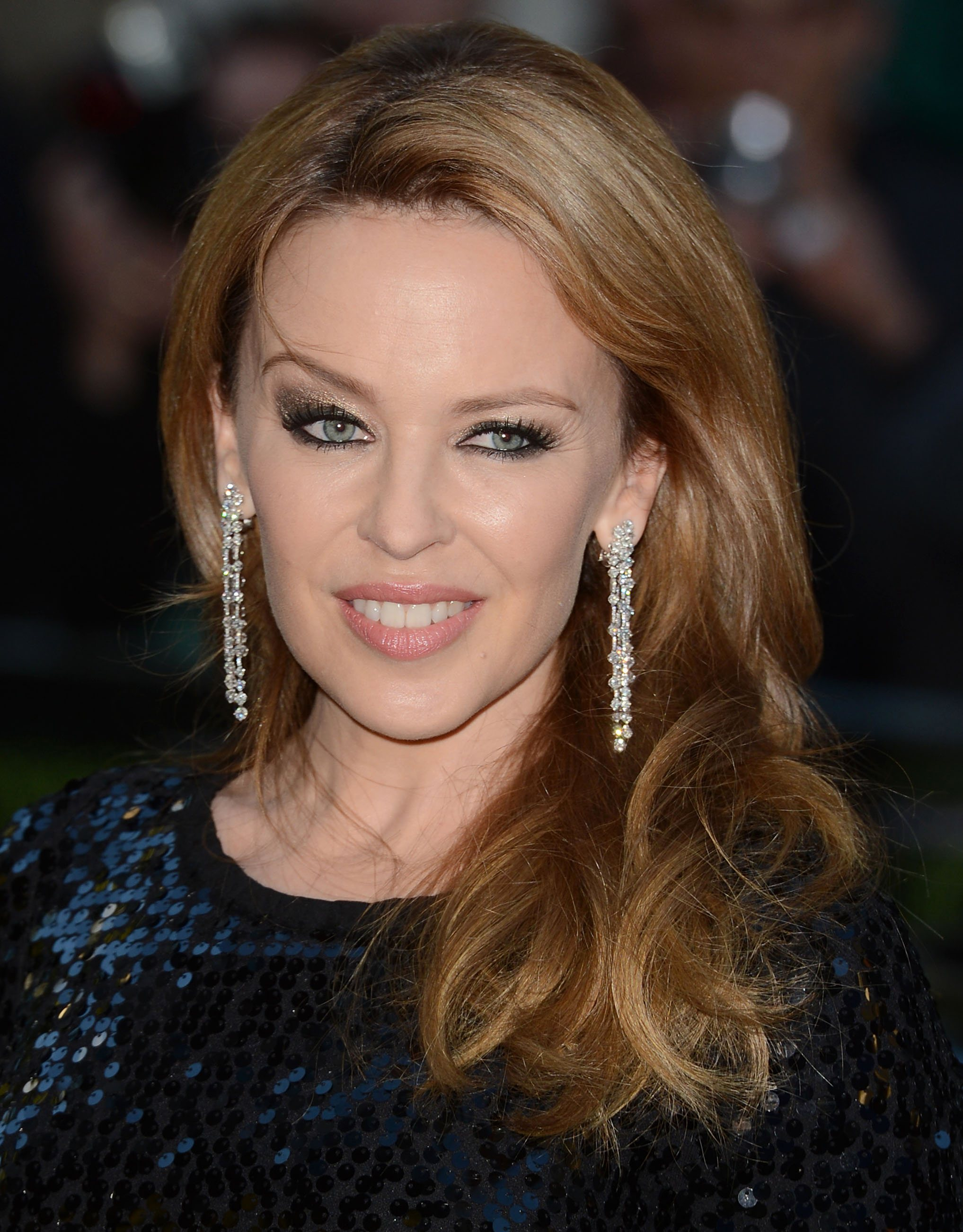 Kylie Minogue has a thing for wrinkly rock stars