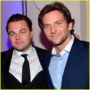 Leonardo DiCaprio and Bradley Cooper prefer watching girls to Super Bowl game