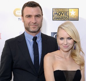 Liev Schreiber and Naomi Watts teaching sons to be generous