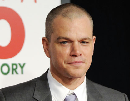 I blame my gray hair on my daughters, says Matt Damon