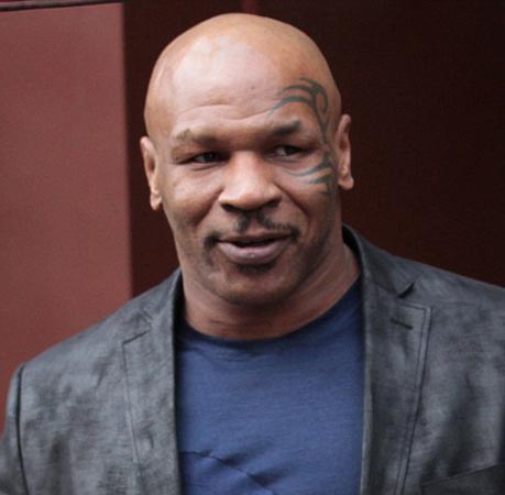 Mike Tyson fancies a role in Shakespeare's Othello!