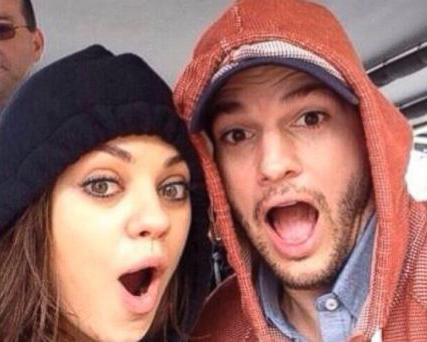 Mila Kunis selfie