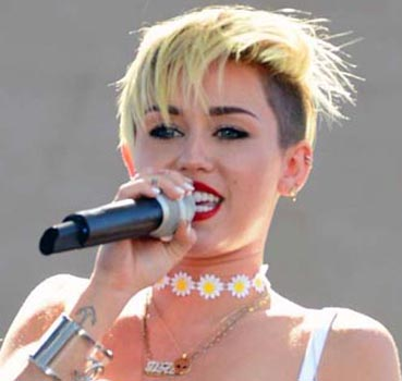 Arnie gives Miley Cyrus or money ultimatum to 'love-struck' son
