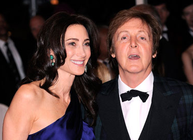 McCartney and Nancy Shevell named UK music's power pair with 710m pounds fortune