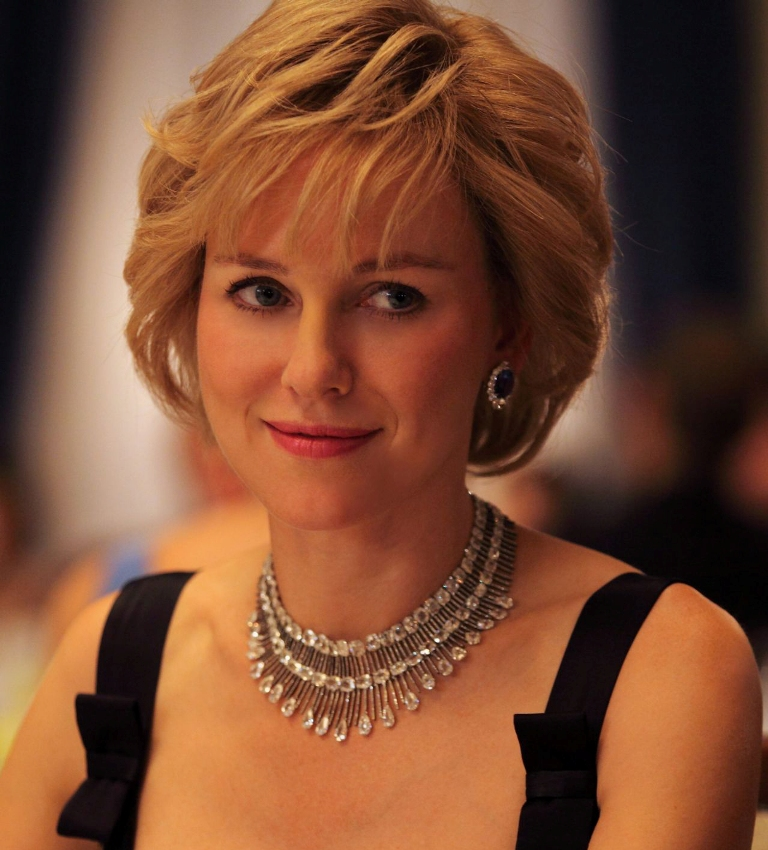 Naomi Watts transforms into splitting image of Diana