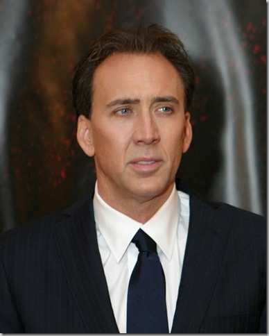 Nicolas Cage treats son with a ...