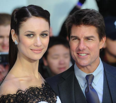 Olga Kurylenko praises co-star Tom Cruise