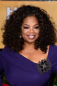 Oprah Winfrey 'pocket tweets' herself
