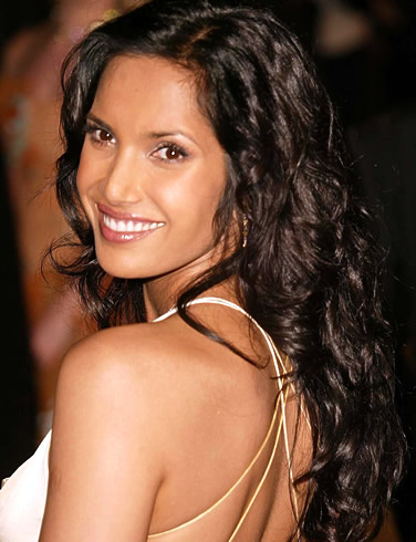 padma lakshmi and ted forstmann. Lakshmi refused to name who