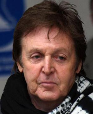 McCartney relives The Beatles' days