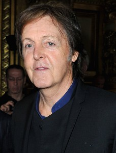 Paul McCartney serenades wife Nancy over the phone