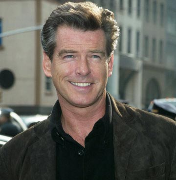 Brosnan laments his looks