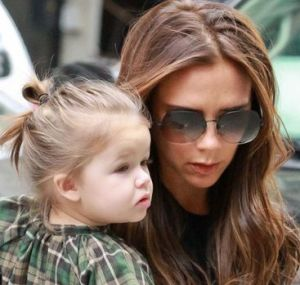 Posh's daughter is 'gaga' over Lady Gaga