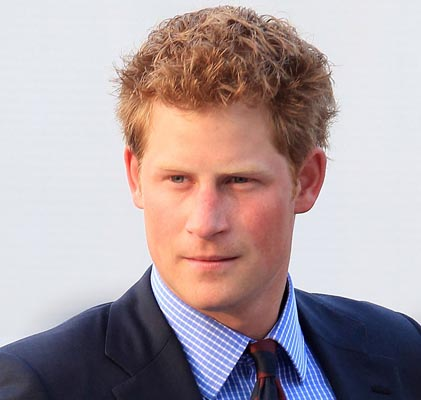 Prince Harry's motorcade caught in crash