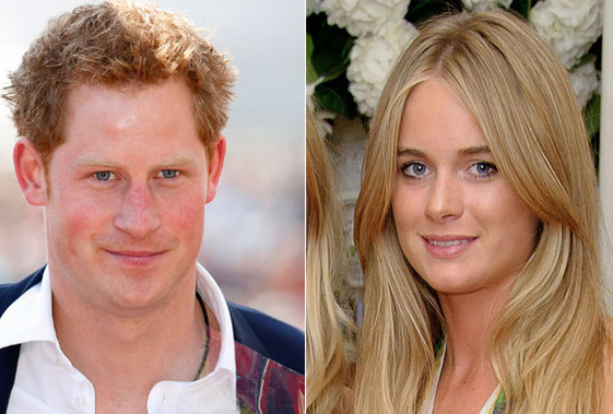 Prince Harry and Cressida Bonas tops Wills-Kat as most sought after party guest