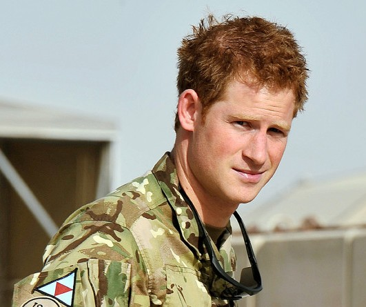 Prince Harry nicknamed `Elvis` by US Marines