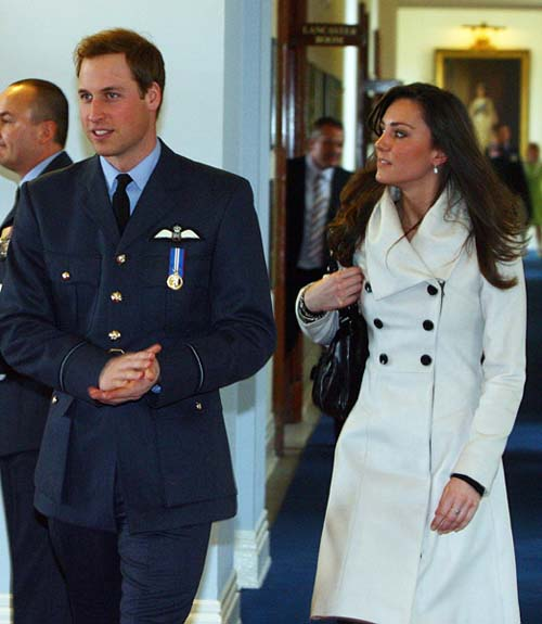 Duchess of Cambridge takes up life as wife of an RAF pilot