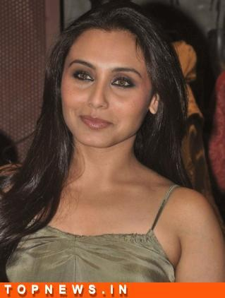 I'm doing a film with Aamir: Rani Mukerji
