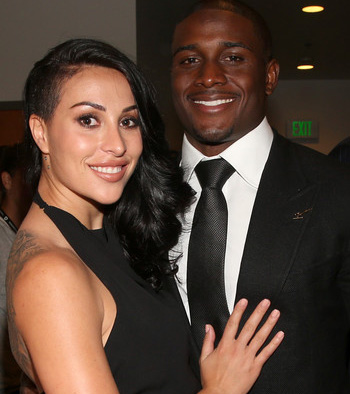 Footi-ace Reggie Bush ties the knot with fiance Lilit Avagyan