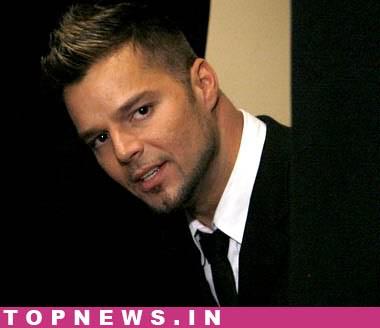ricky martin gay. Ricky Martin says he likes