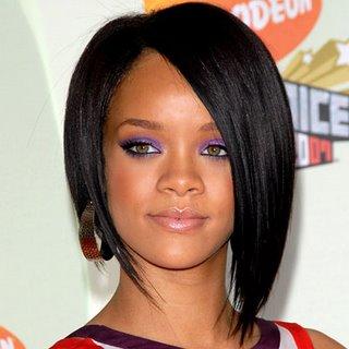 Rihanna s brown silk ensemble