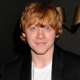 Rupert Grint tries luck at Bingo