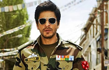 SRK begins his first ever shooting schedule in Kashmir Valley