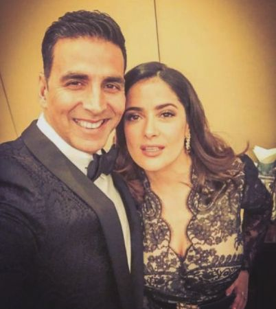 'I asked Jesus to give me some boobs', says Salma Hayek