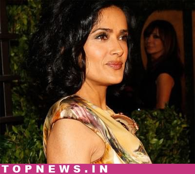 salma hayek breastfeeding addiction. images salma hayek grown ups