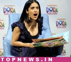 Salma Hayek defends Madonna's skimpy dressing style