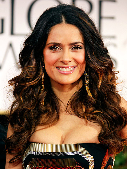 Salma Hayek proud of Mexican roots