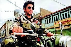 24 years on, SRK again woos fans as army man