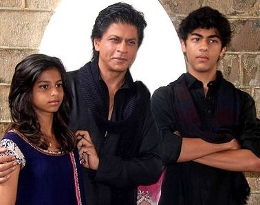 How does it feel to be a parent of SRK's son's pal?