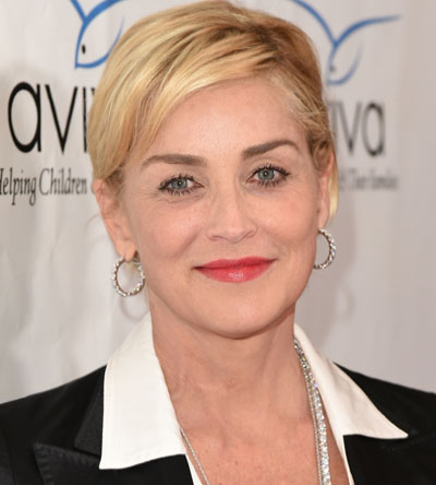 Sharon Stone compares her butt to 'triple creme Brie'
