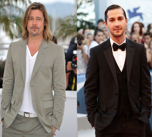 Shia LaBeouf says Brad Pitt is like his husband