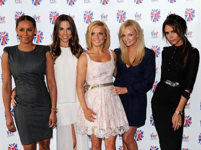 Spice Girls reunite in London