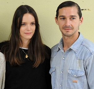 Shia LaBeouf, Stacy Martin