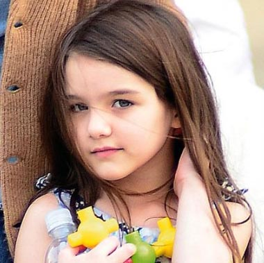 Suri Cruise wants to be a gymnast ?