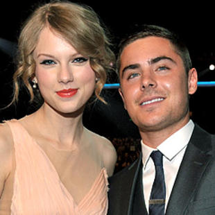 Swift teaches guitar to Efron