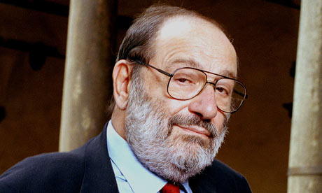 Italian writer Umberto Eco dies aged 84