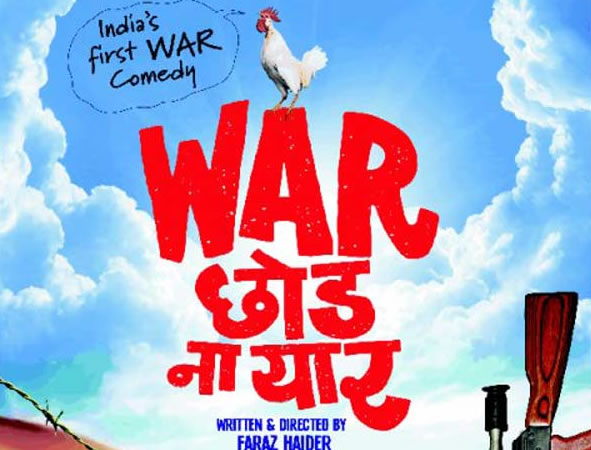 'War Chhod Na Yaar' brave concept, engaging war satire