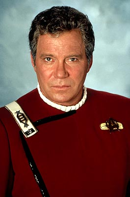 William Shatner as Kirk